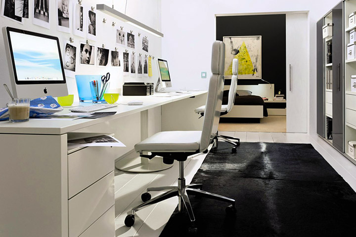 Productive Home Office Design Tips