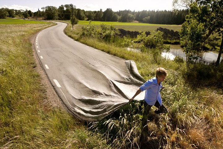 Erik Johansson – Amazing optical illusions