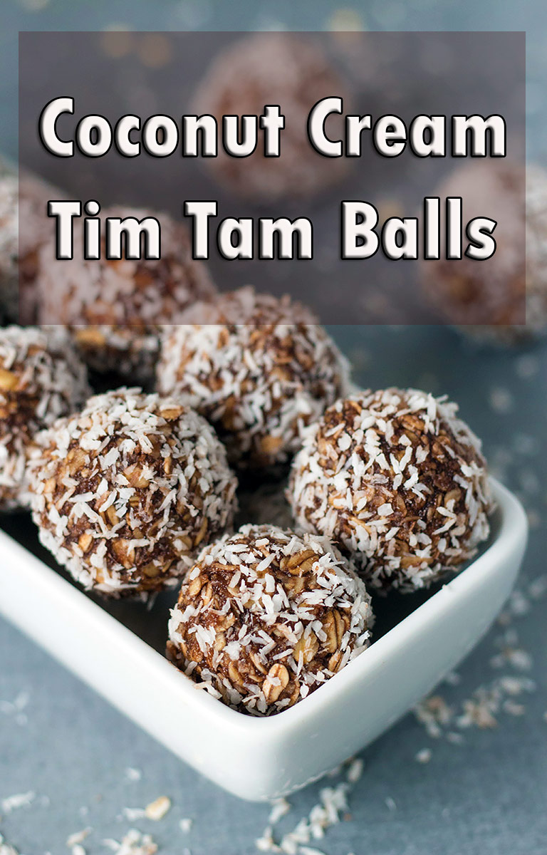Coconut Cream Tim Tam Balls