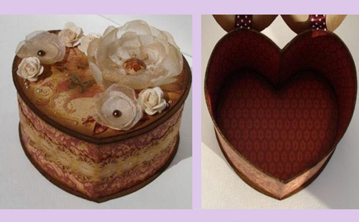 Heart Storage Box – DIY Tutorial