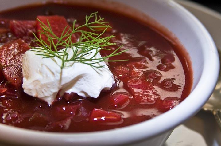 Recipe for Beet Soup - Borscht