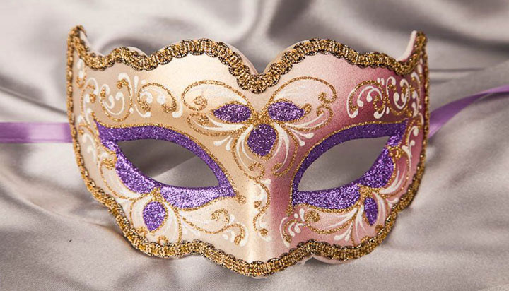Masquerade Mask Makeup