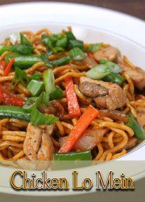 Chicken Lo Mein Recipe