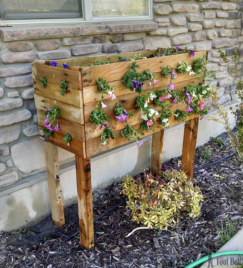 DIY - Pallet Box Planter