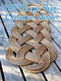 DIY Rope Rug Creative Ideas