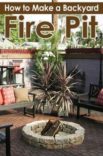 How to Make a Backyard Fire Pit
