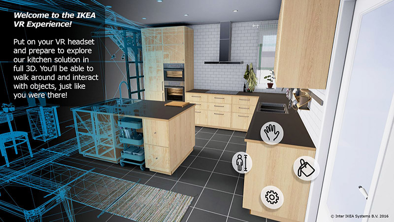 Ikea Brings Kitchen Design to Virtual Reality in New App