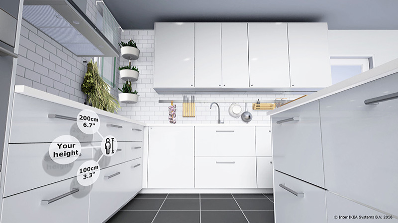 IKEA Brings Kitchen Design to Virtual Reality