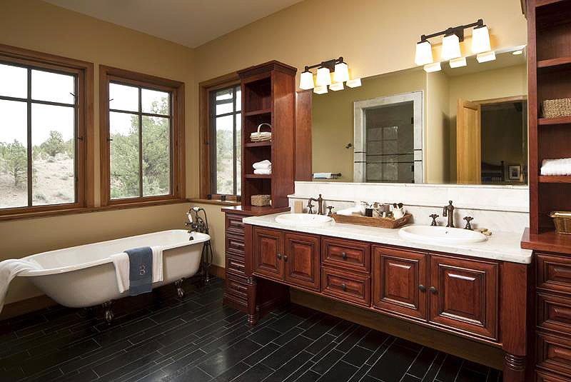 when designing the ultimate master bathroom pay close attention to
