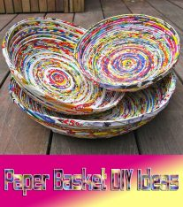 Paper Basket – DIY Ideas
