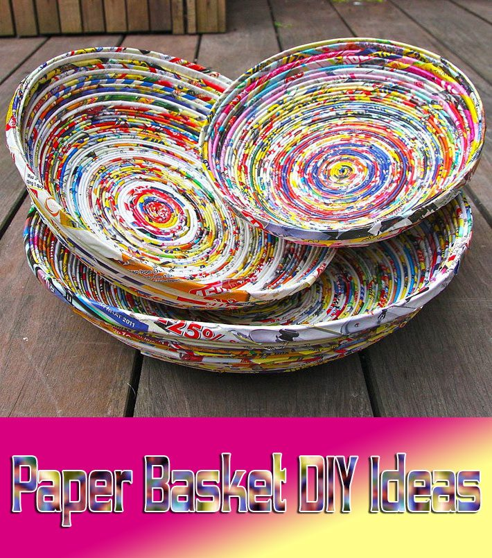 Paper Basket – DIY Ideas