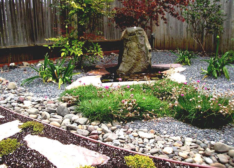 15 stone landscaping ideas quiet corner - Tips using rock landscaping ...