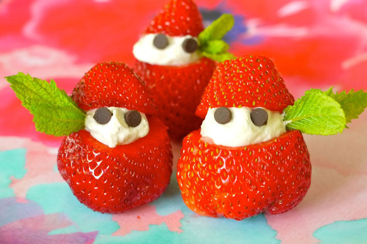 Strawberries and Cream Elves