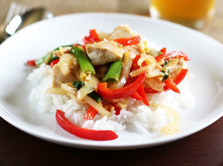 Thai Ginger Chicken Stir-Fry