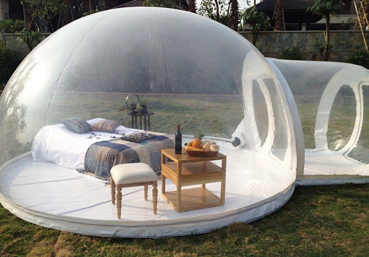 Transparent Bubble Tent-Sleep Underneath The Stars