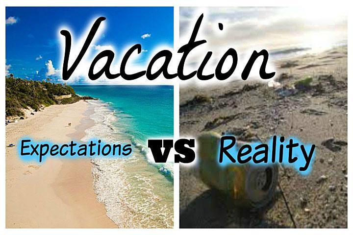 10 Travel Expectations vs Reality