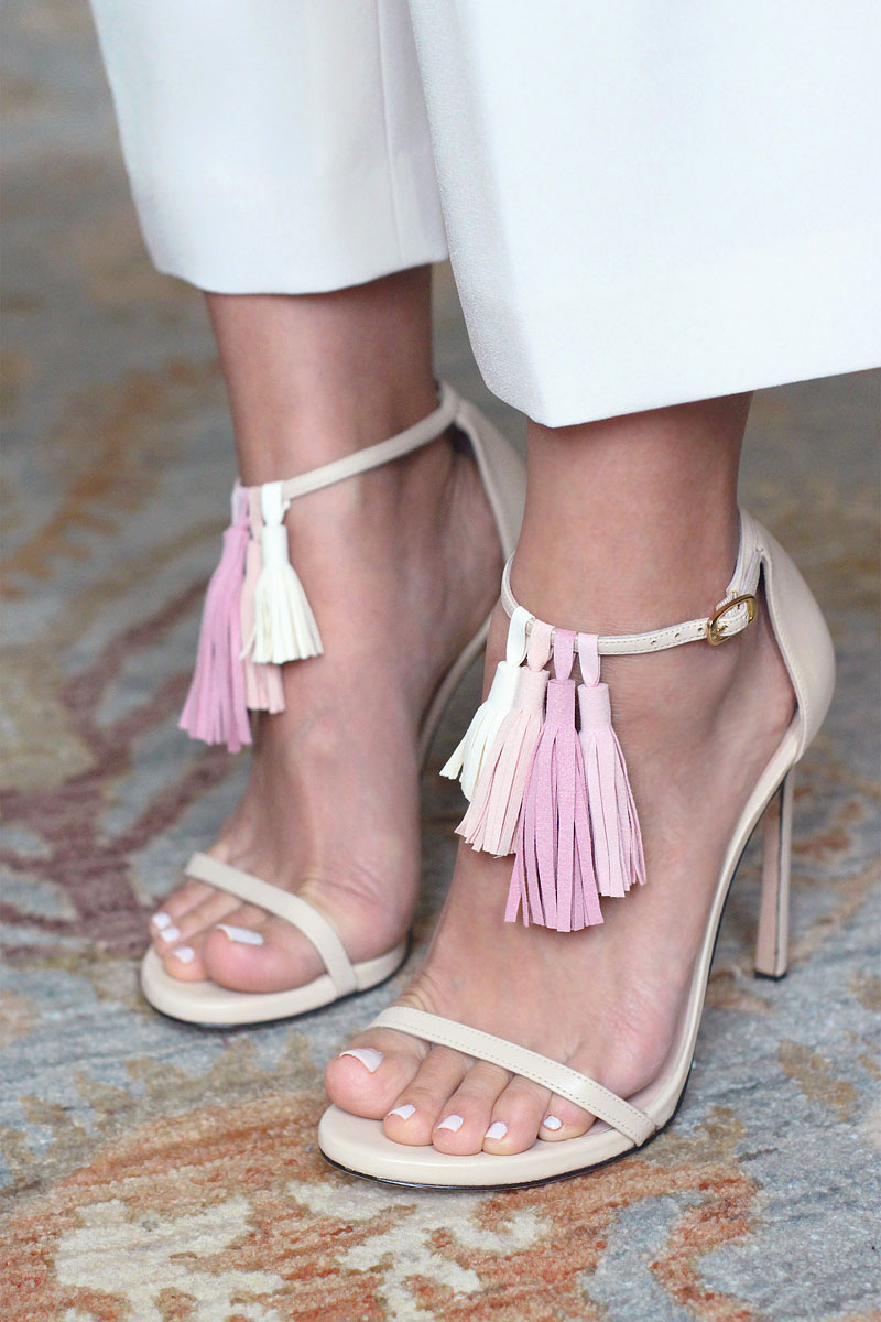 DIY Tassel Sandals - Tutorial