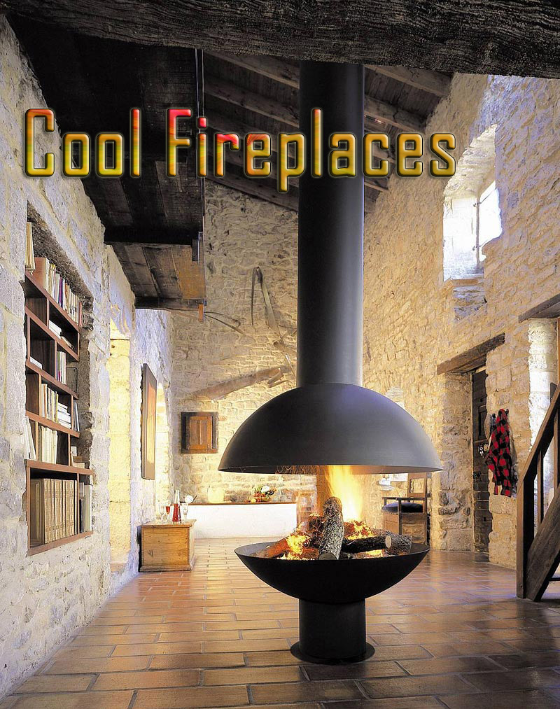 Some of The Coolest Fireplaces Ever