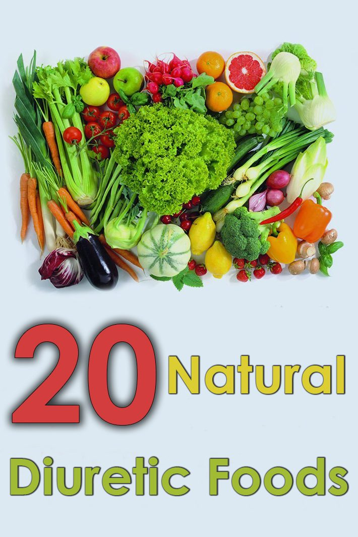 20 Natural Diuretic Foods