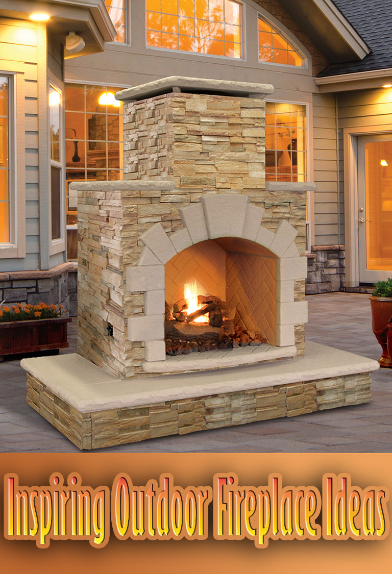 Inspiring Outdoor Fireplace Ideas
