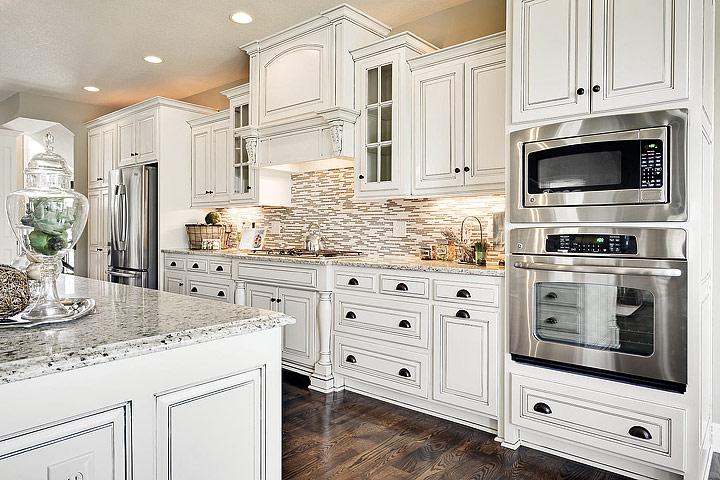 Kitchen ideas antique white kitchen cabinets quiet corner for Not just kitchen ideas