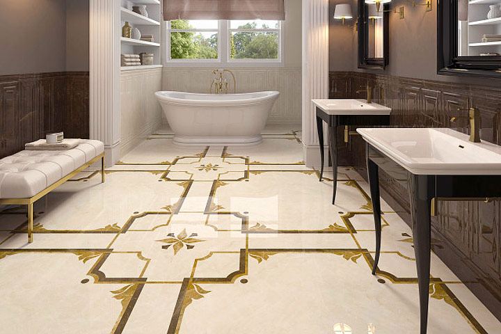 New Technology Drives Tile Trends Quiet Corner