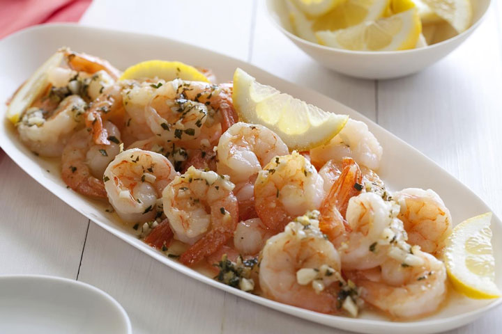 Simple and Healthy Shrimp Scampi - Quiet Corner