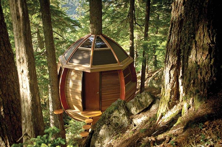 The HemLoft – Hidden Treehouse