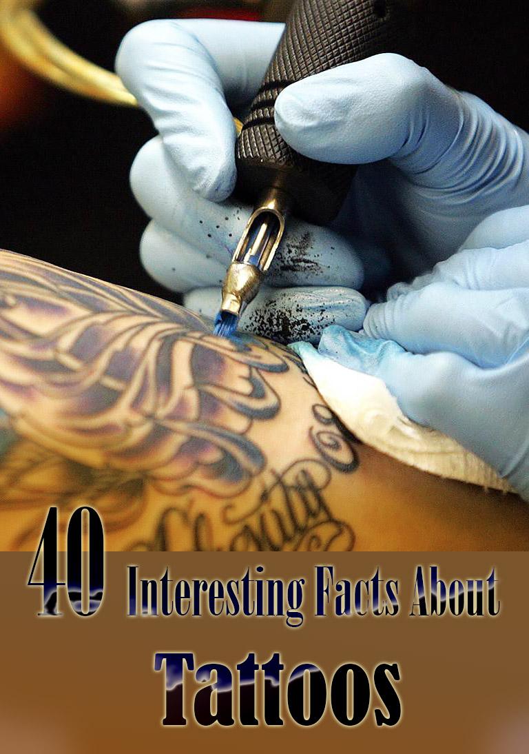 Quiet Corner:40 Interesting Facts About Tattoos - Quiet Corner