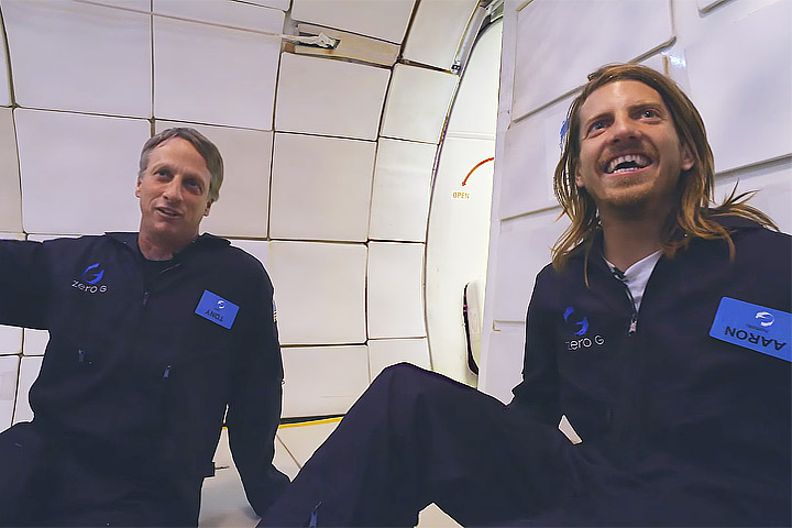 Tony Hawk and Jaws Homoki Versus Zero Gravity