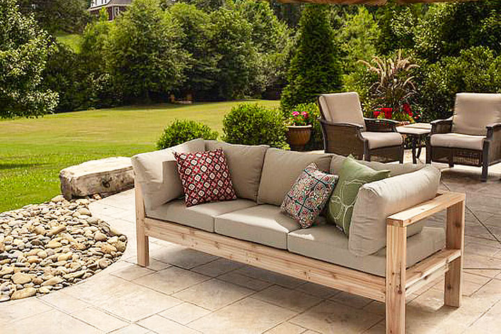 Merveilleux DIY U2013 Summer Outdoor Sofa