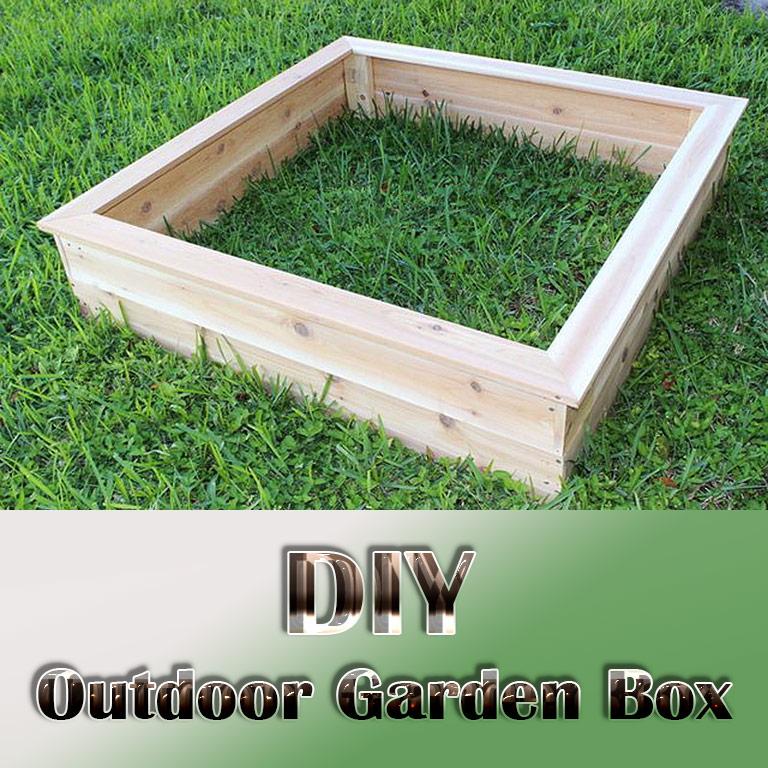 DIY – Outdoor Garden Box