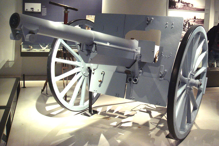 World War l Cannon Stolen from Veterans Home