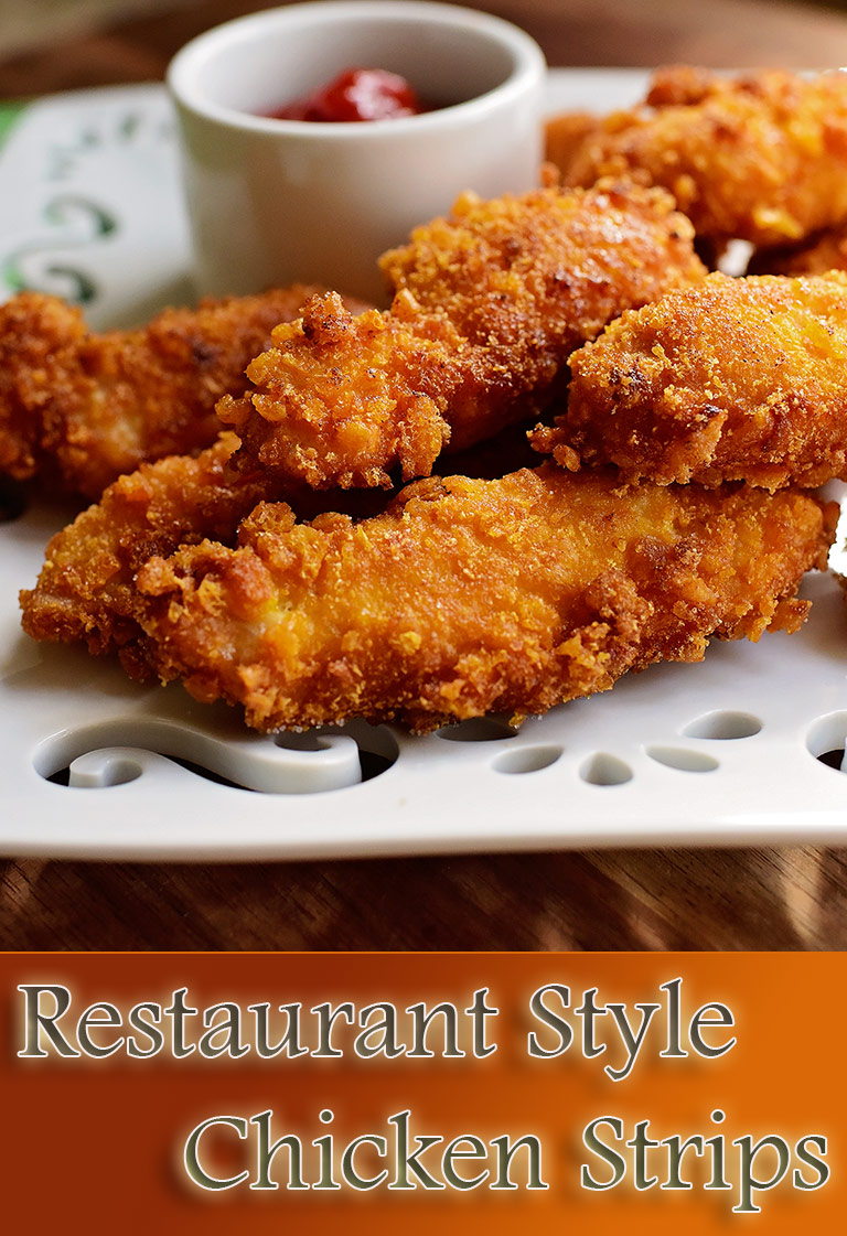 Restaurant Style Chicken Strips Recipe