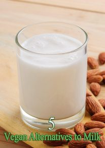 5 Vegan Alternatives to Milk