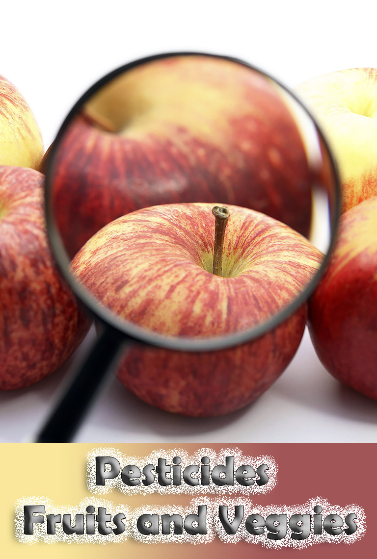 Fruits and Veggies with Most and Least Pesticides