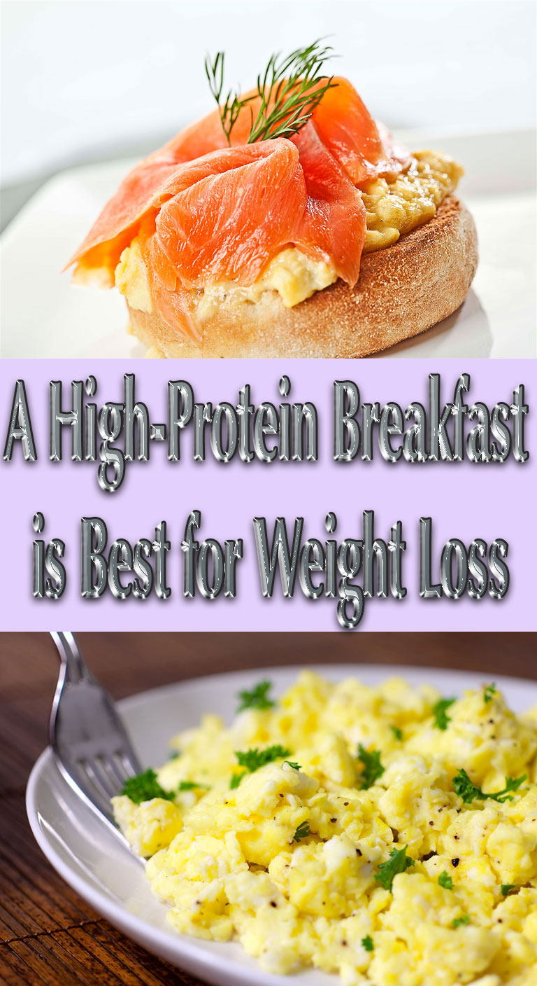 A High-Protein Breakfast is Best for Weight Loss