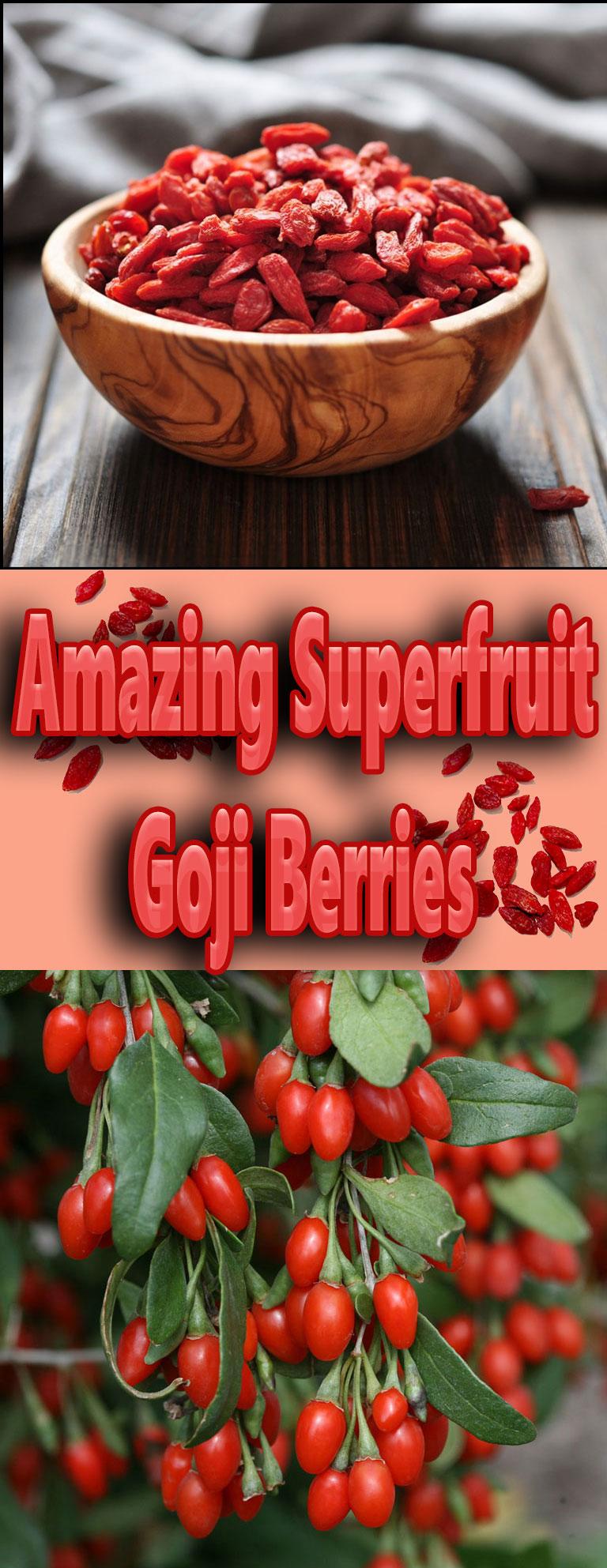 Amazing Superfruit - Goji Berries