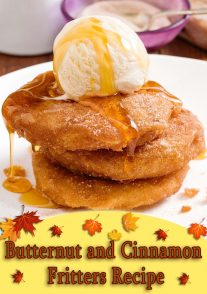 Butternut and Cinnamon Fritters Recipe
