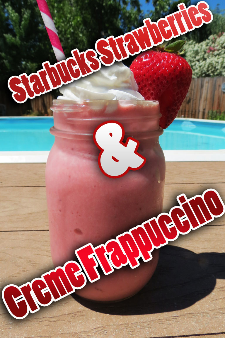 Starbucks Strawberries & Creme Frappuccino