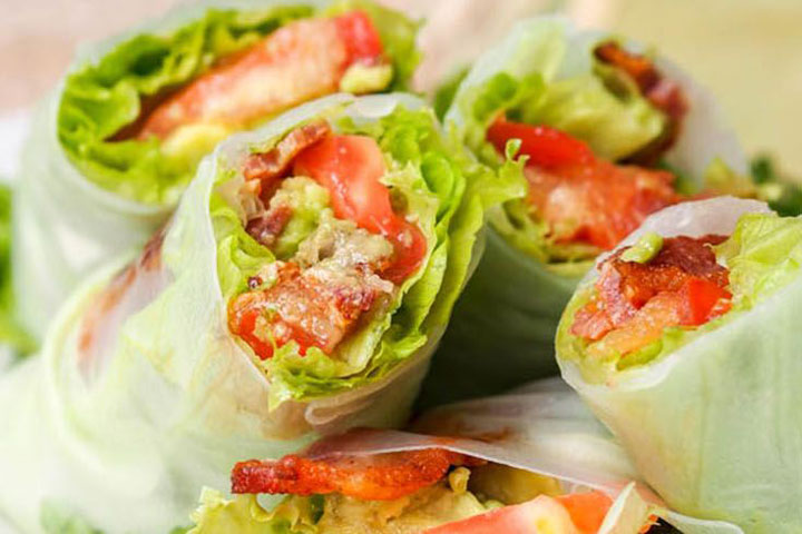 Summer Rolls with Avocado (GF, DF)