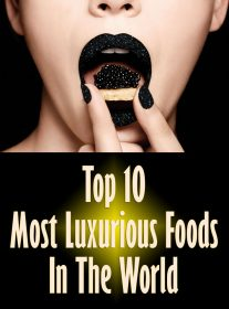 Top 10 Most Luxurious Foods In The World
