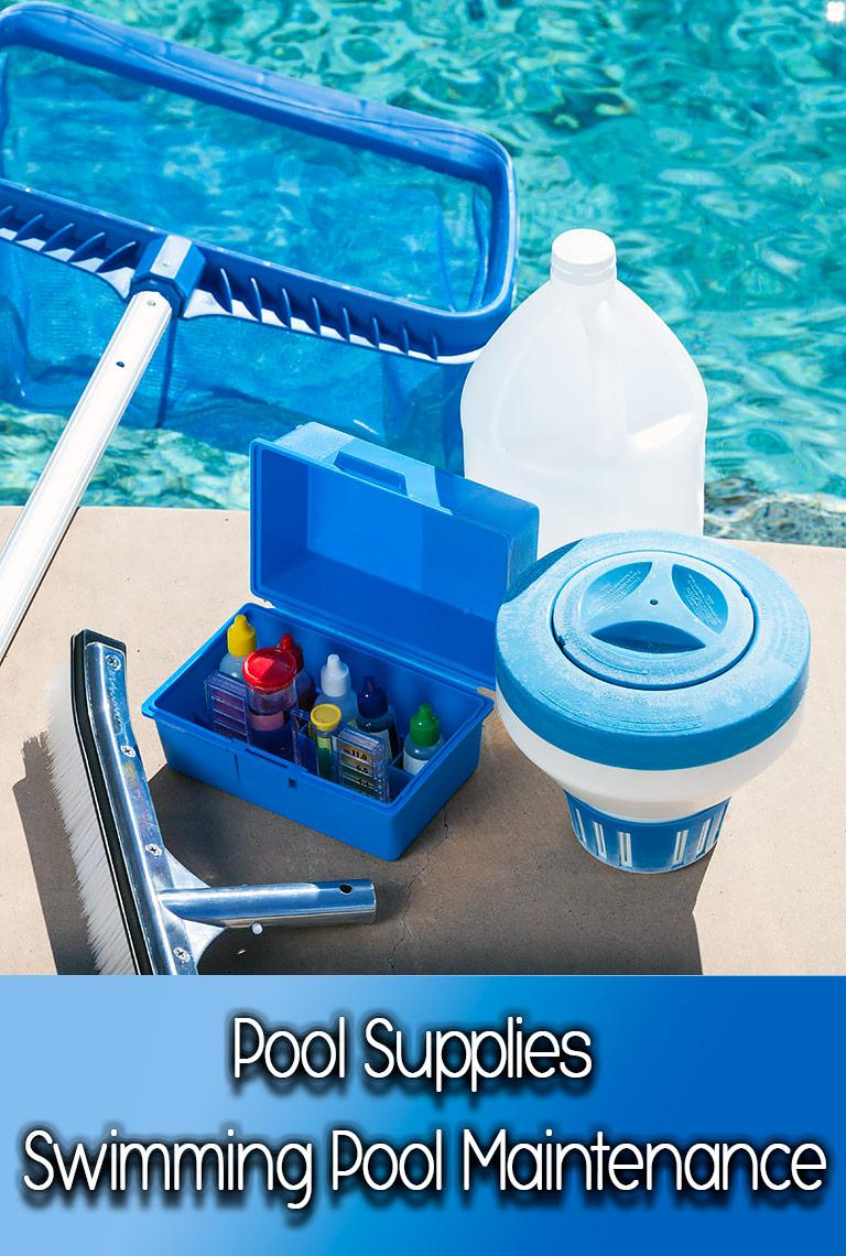 Pool Supplies - Swimming Pool Maintenance