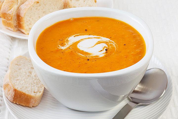 Creamy Pumpkin Soup Recipe