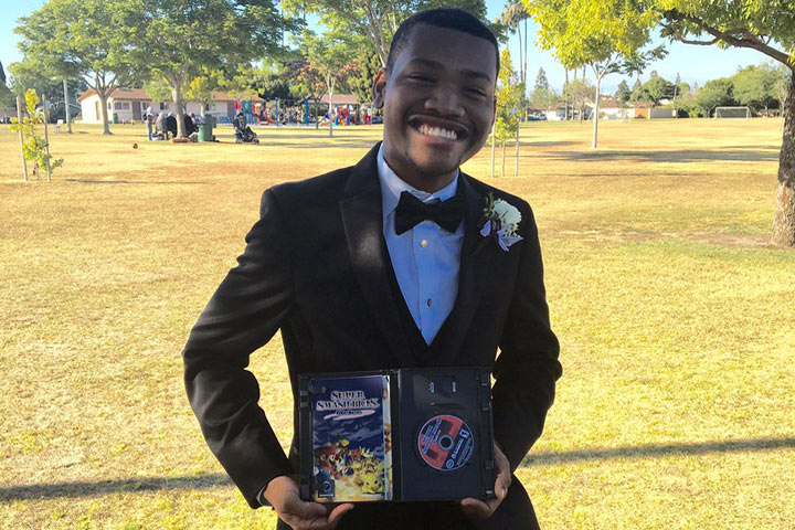 Student Brings Video Game To Prom As His Date