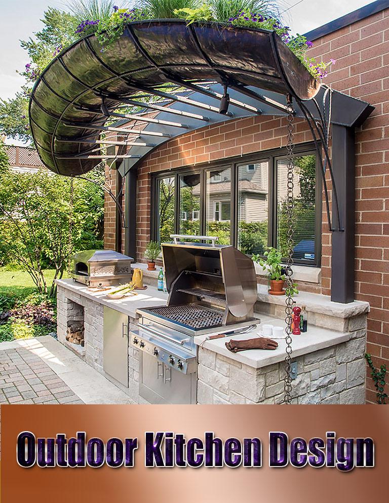 Quiet Corner:Outdoor Kitchen Design - Quiet Corner