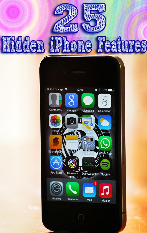 25 Hidden iPhone Features