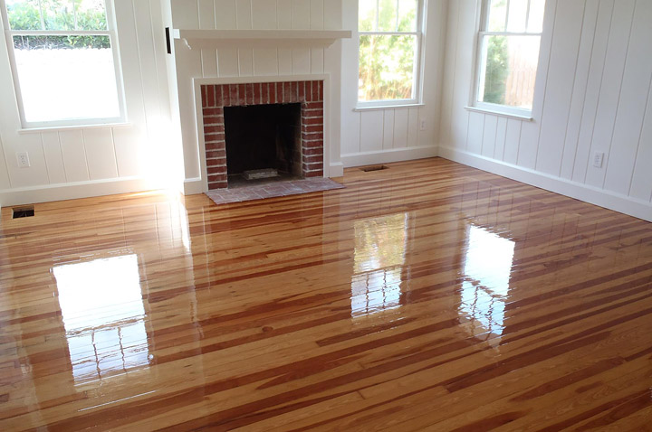 How to refinish hardwood floors quiet corner for Resurfacing wood floors