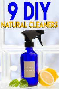 9 DIY Natural Cleaners