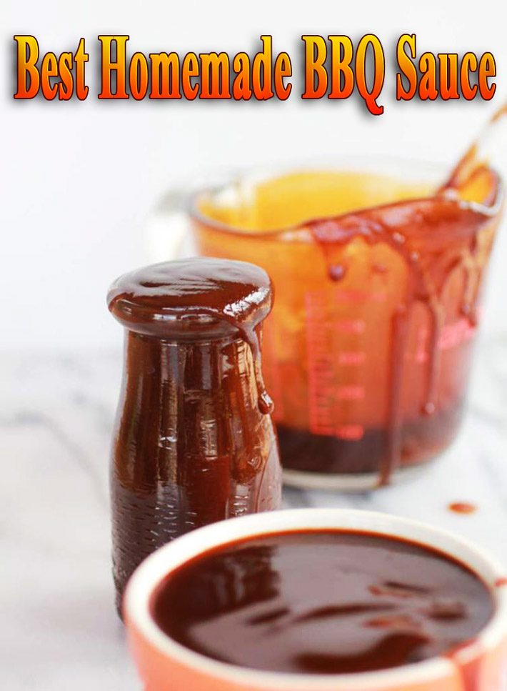 Best Homemade BBQ Sauce
